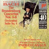Marlboro Fest 40th Anniversary- Bach: Brandenburg Cti 4-6