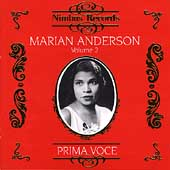 Prima Voce - Marian Anderson Vol 2
