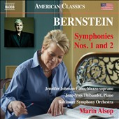 Bernstein: Symphonies Nos. 1 and 2 / Jennifer Johnson Cano, mz; Yean-Yves Thibaudet, piano; Baltimore SO, Marin Alsop