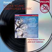 Philips 50 - Handel: Water Music, etc / Gardiner, et al