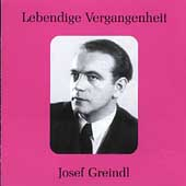 Lebendige Verganenheit - Josef Greindl