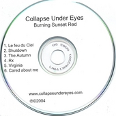 Collapse Under Eyes: Burning Sunset Red