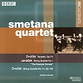 Dvor&aacute;k, Jan&aacute;cek: String Quartets / Smetana Quartet