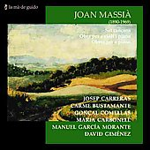 Joan Massi&#224;: Songs, Chamber music / Jos&#233; Carreras, et al