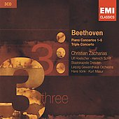 Beethoven: Piano Concertos no 1-5, Triple Concerto