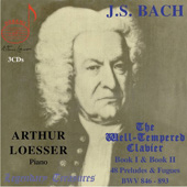 Bach: The Well-Tempered Clavier / Loesser