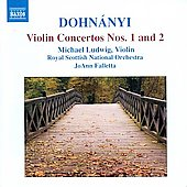 Dohnányi: Violin Concertos no 1 & 2 / Michael Ludwig, JoAnn Falletta, Royal Scottish National Orchestra