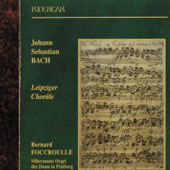 Bach: Leipziger Chorales BWV 651-668 / Bernard Foccroulle