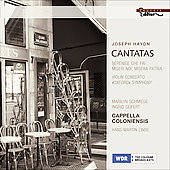 Haydn: Cantatas, Symphony no 92, Violin Concerto no 4 / Linde, Schmiege, Seifert, et al