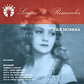 Singers to Remember - Eid&eacute; Nor&eacute;na
