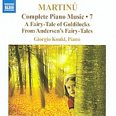 Martinu: Complete Piano Music Vol 7 / Giorgio Koukl