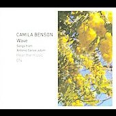 Camila Benson: Wave: Songs from Antonio Carlos Jobim [Digipak]
