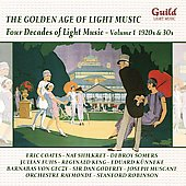 Various Artists: The Golden Age of Light Music: Four Decades of Light Music, Vol. 1 - 1920s & 30s