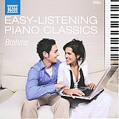Easy Listening Piano Classics: Johannes Brahms