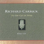 Richard Carrick: Flow Cycle For Strings / Schultz, violin; Scheindlin,viola