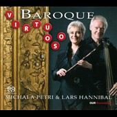 Virtuoso Baroque / Michala Petri, recorder; Lars Hannibal, harp