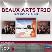 Beaux Arts Trio: 3 Classic Albums - Piano Trios by Dvorak, Mendelssohn, Ravel, Chausson, Beethoven