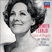 Voce d'Angelo: The Complete Decca Recordings / Renata Tebaldi, soprano [66 CDs]