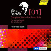 Bela Bartok: Complete Works for Piano Solo, Vol. 1 - The Mature Bartok / Andreas Bach, piano [3 CDs[