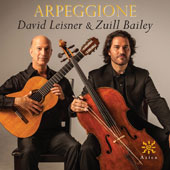 Arpeggione - Music of Villa-Lobos, Saint-Saens, de Falla, Schubert, Paganini, Gluck / David Leisner, guitar; Zuill Bailey, cello