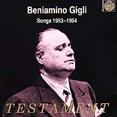 Beniamino Gigli - Songs (1953-1954)