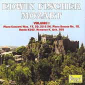 Mozart: Piano Concertos 17, 20, 22, & 24, etc / Fischer