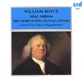 Boyce: Select Anthems, Voluntaries / Higginbottom, et al