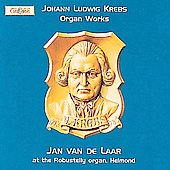 Krebs: Organ Works / Jan Van de Laar