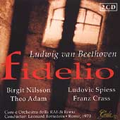 Beethoven: Fidelio / Bernstein, Nilsson, Adam, et al