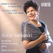Strauss: Four Last Songs, etc / Isokoski, Janowski, et al