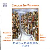 Canci&oacute;n sin palabras / Martha Marchena