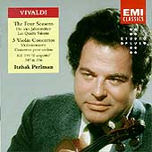 Vivaldi: The Four Seasons, 3 Violin Concertos / Perlman