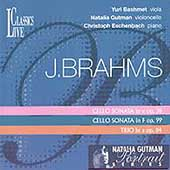 Brahms: Cello Sonatas, Piano Trio / Gutman, et al