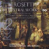 Rosetti: Orchestral Works Vol 2 / Moesus, Barner, Hamburg SO