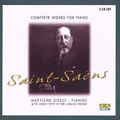 Saint-Saëns: Complete Works for Piano / Dosse, Petit