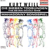 Weill: Die sieben Tods&uuml;nden, Mahagonny Songspiel