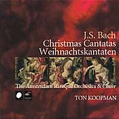 J.S. Bach: Christmas Cantatas / Koopman, Amsterdam Baroque