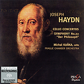 Haydn: Cello Concertos, etc / Kanka, Prague CO