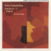 Gubaidulina: String Quartets 1-3, Trio / Danish Quartet
