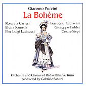 Puccini: La Boh&#232;me / Santini, Tagliavini, Carteri, et al