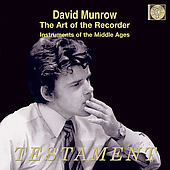 The Art of the Recorder / David Munrow