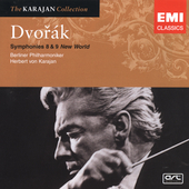 Karajan Collection - Dvor&#225;k: Symphonies 8 & 9 / Berlin PO