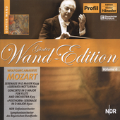G&#252;nther Wand Edition - Mozart: Serenade in D, etc