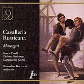 Mascagni: Cavalleria Rusticana / Gavazzeni, Simionato