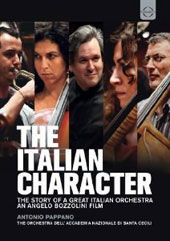The Italian Character: The Story of a Great Italian Orchestra / Evgeny Kissin Lang Lang, Stefano Bollani. Pappano [DVD]