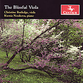 The Blissful Viola - Clarke, Bliss, etc / Rutledge, Nosikova