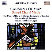 American Classics - Carson Cooman:  Sacred Choral Music
