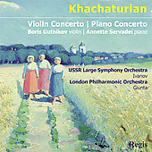 Khachaturian: Violin Concerto & Piano Concerto / Gutnikov, Servadei, Ivanov, Giunta, et al