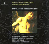 Steffani: Cantatasm Duets & Sonatas / Yasunori Imamura, Fons Musicae