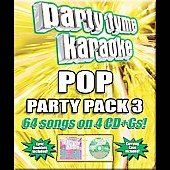 Party Tyme Karaoke: Party Tyme Karaoke: Pop Party Pack, Vol. 3 [Box]